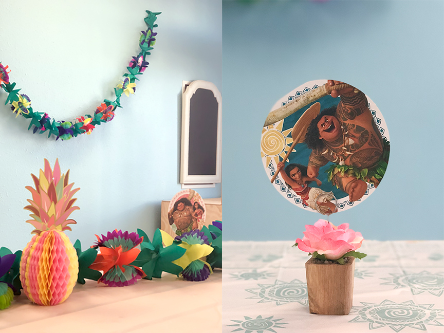 Moana Luau Birthday