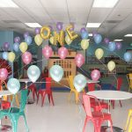 Cupcake Rainbow Kids Party