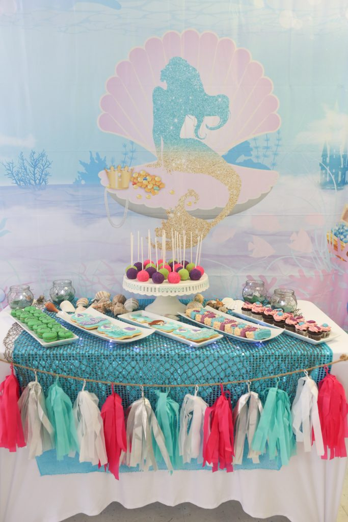Mermaid Kids Birthday Party