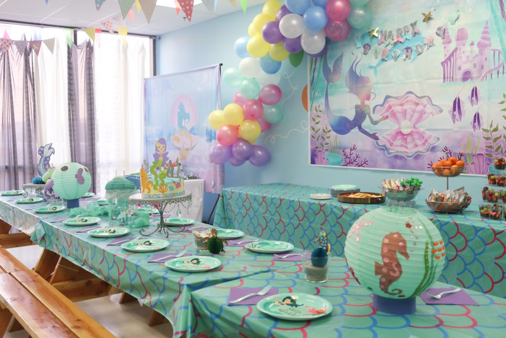 Mermaid Kids Birthday