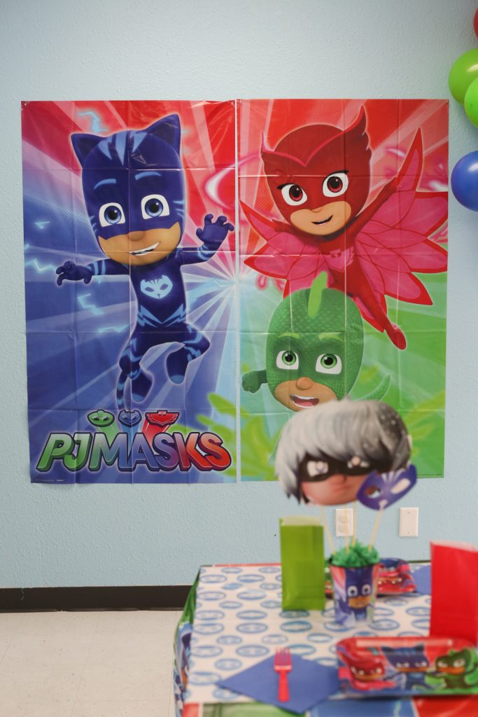 pj mask birthday party