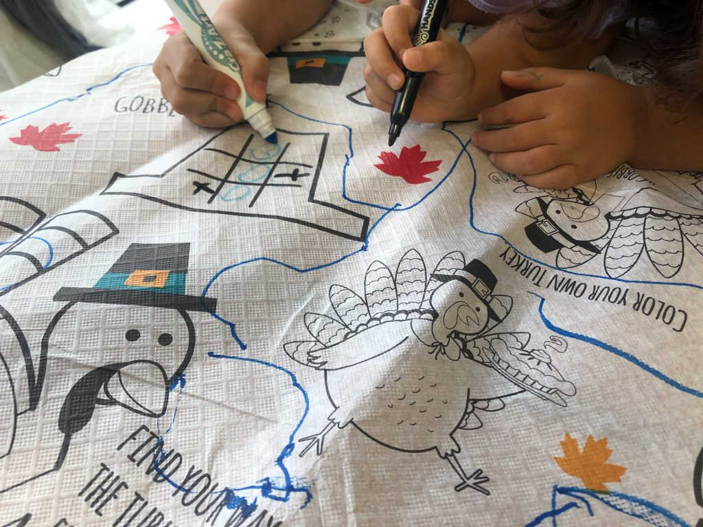 Thanksgiving art camp