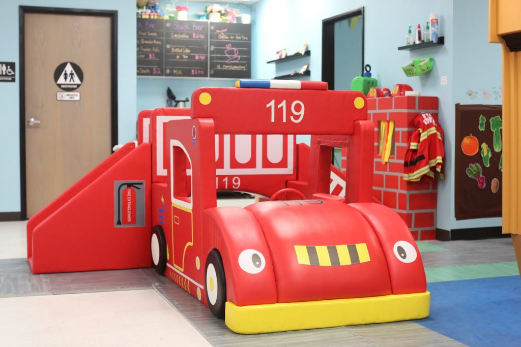 Imagine Play Soft Play Firetruck