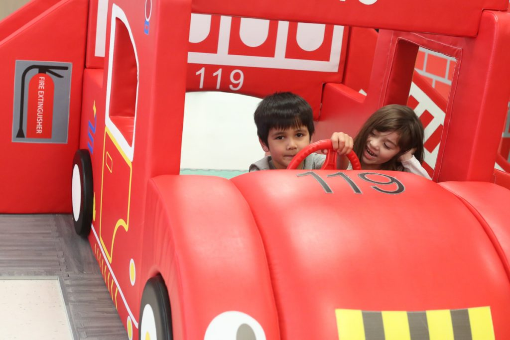 Imagine Play Fire truck softplay