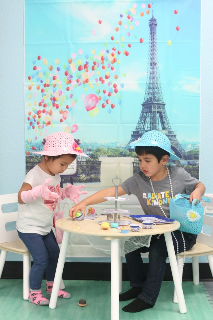 Kids Parisian Tea Party
