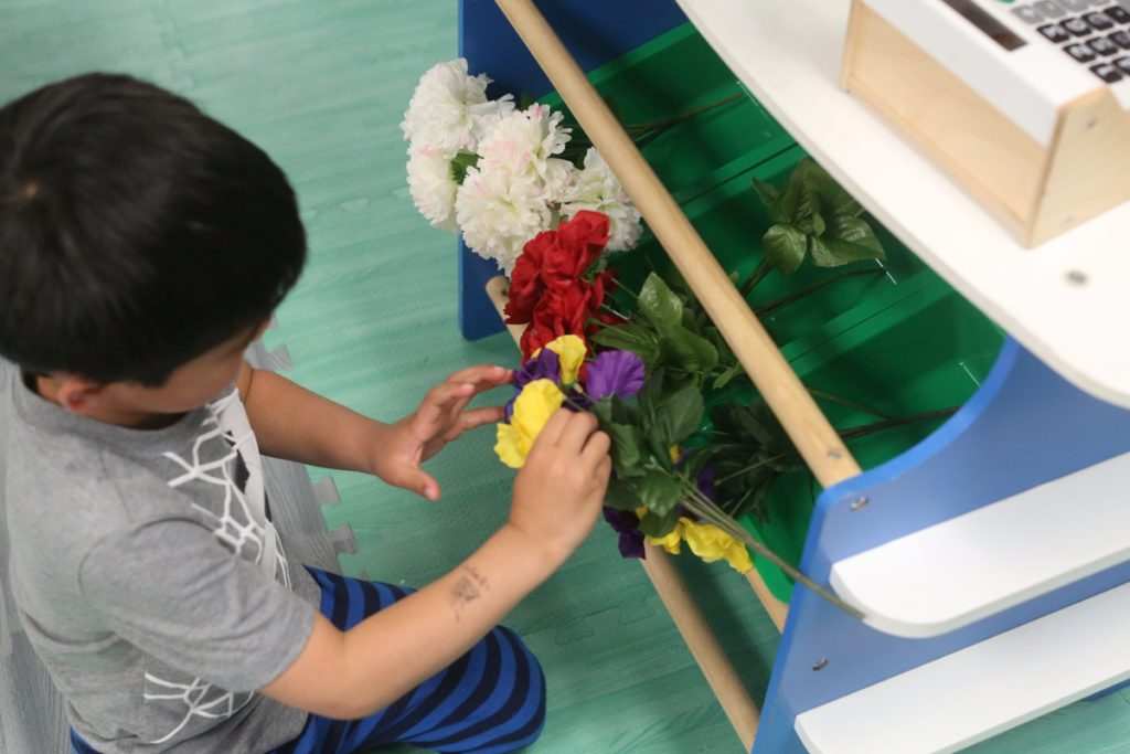 Flower Market Pretend Play