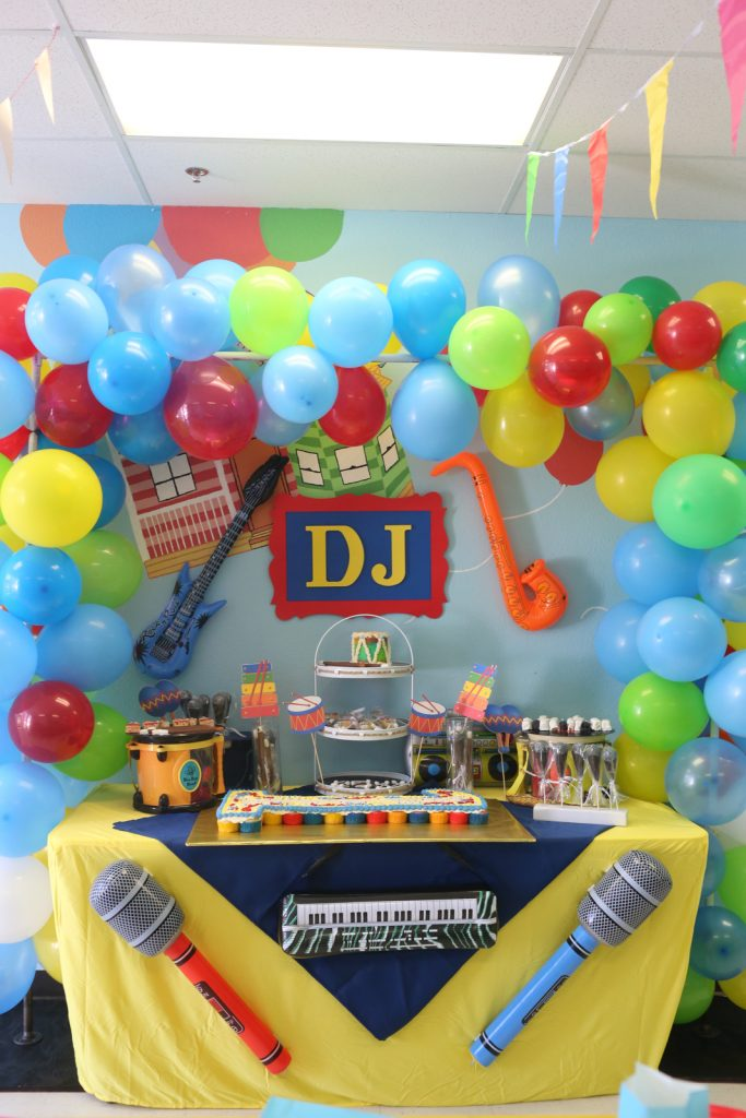 Music Birthday Party