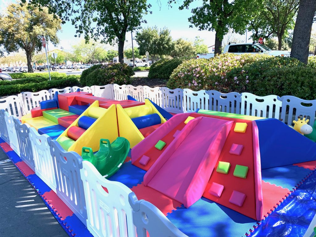 toddler soft play rental