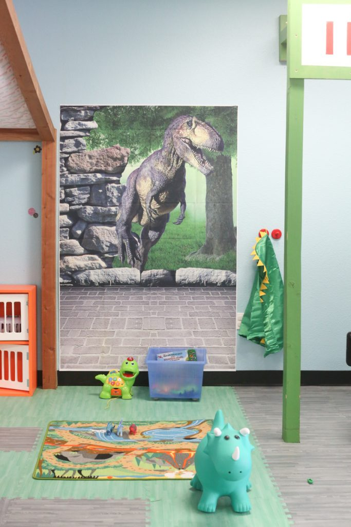 dinosaur pretend play