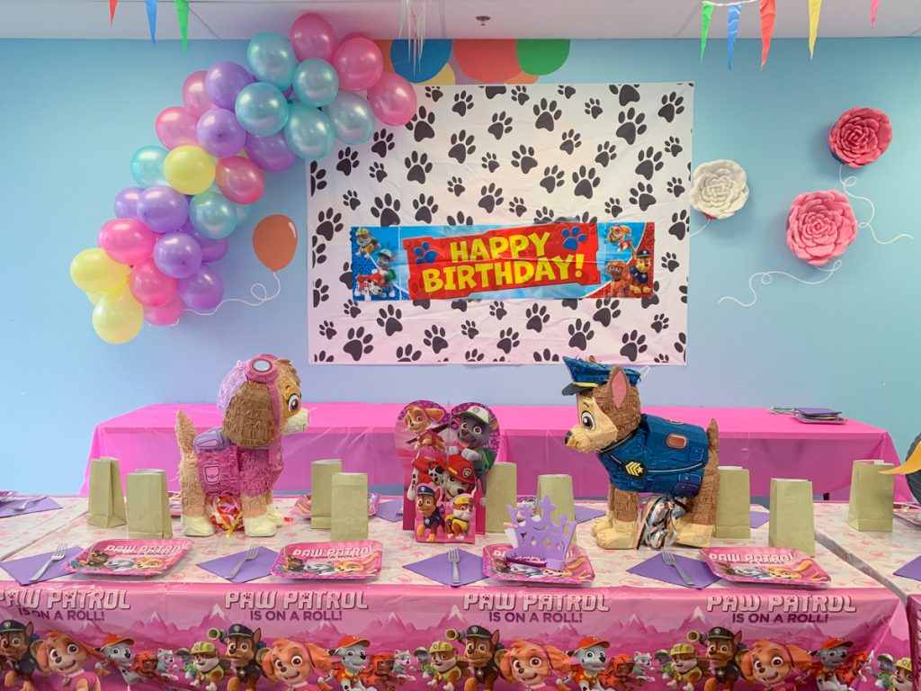 Girl Paw Patrol Party