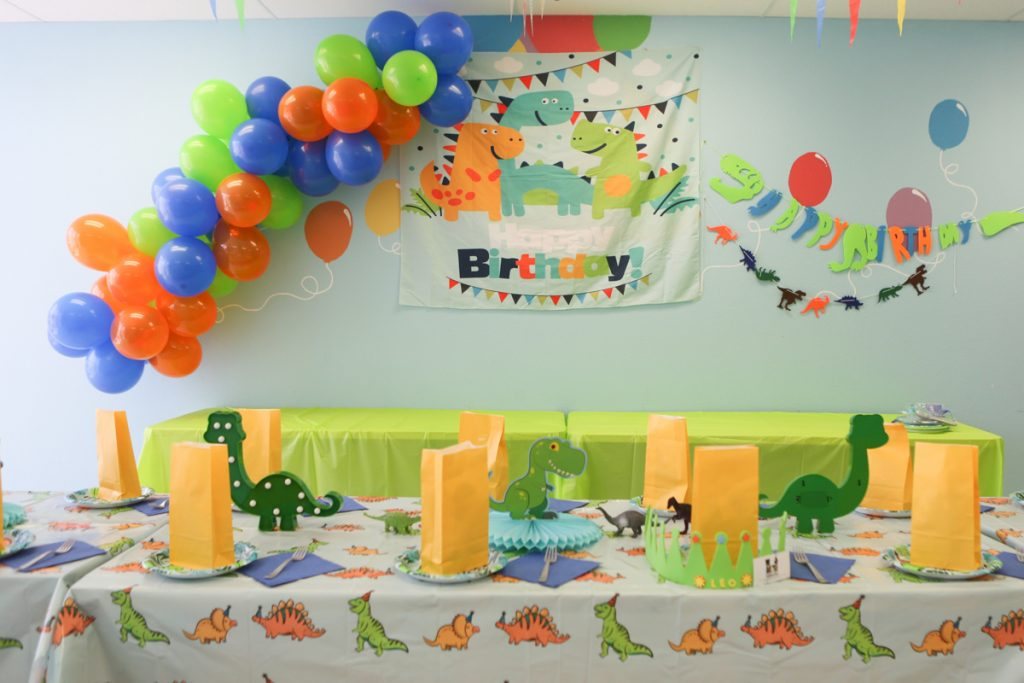 Dinosaur Kids Birthday