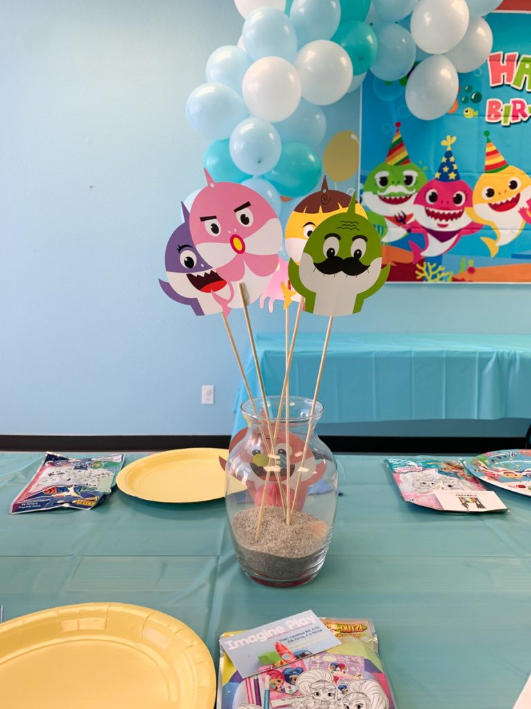 Baby Shark Kids Birthday Party