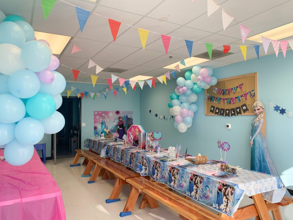 frozen kids birthday
