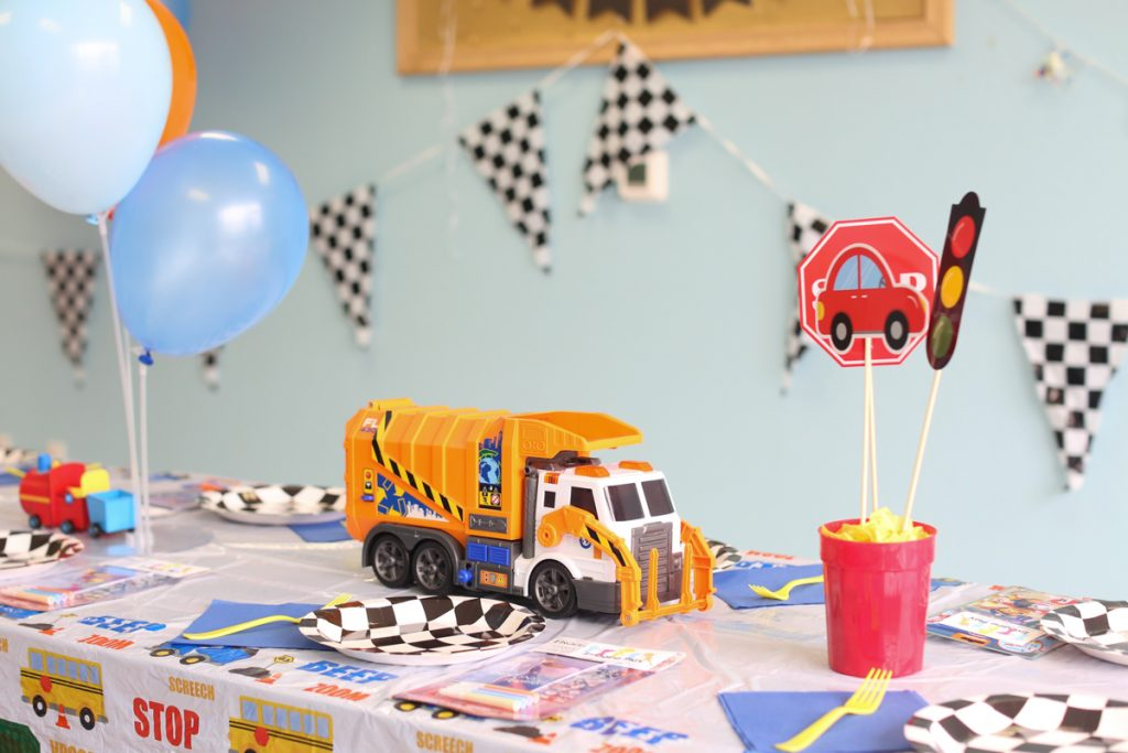 Transportation Hot Wheels Kids Birthday