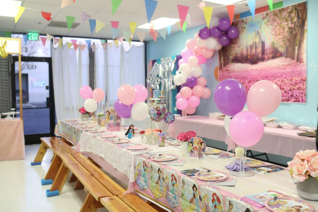 Princess Kids Birthday Party