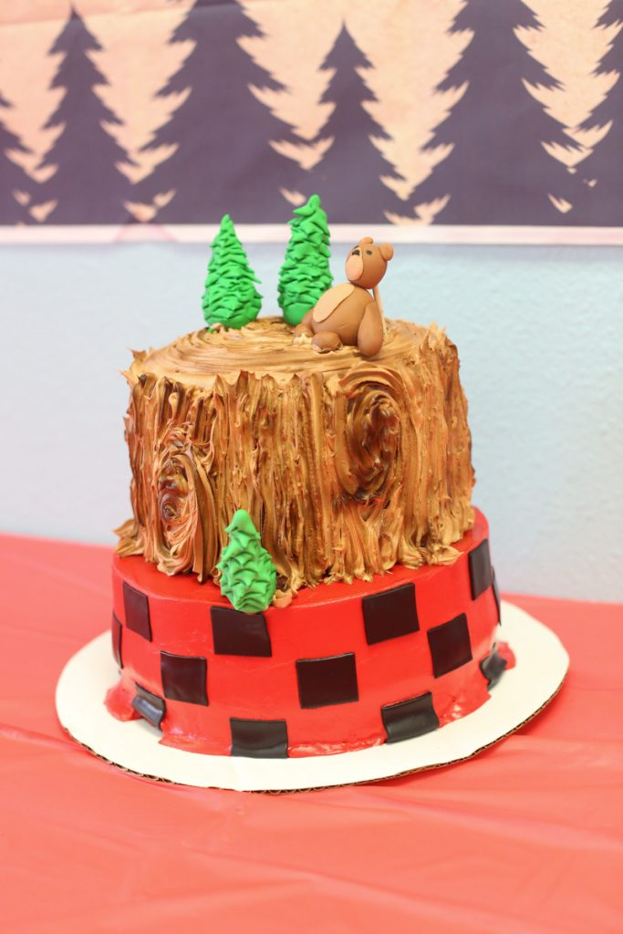 lumberjack kids birthday